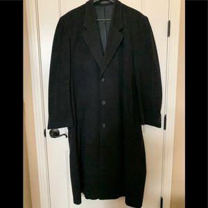 Christian Aujard Cashmere blend overcoat, 44L